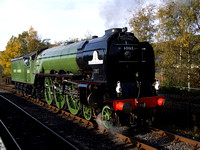 Tornado's debut on the East Lancs Railway 23-30 October 2010
