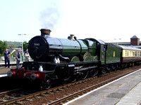 No 5043 at Llandudno Junction