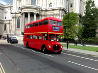 Routemasters in London 13 October 2012