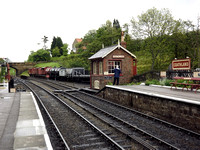 A classic view of an English country station - Goathland