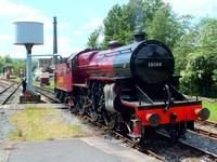 Crimson Crab on the ELR 21 May 2014